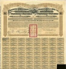 20 Government of the Province of Petchili 1913 Bond