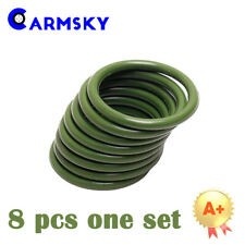 Green O-rings Fit For Ford 6.0L High pressure Oil Track Ball Tube Rebuild Seals