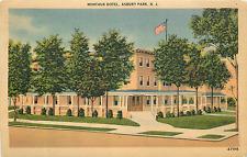 Asbury Park Nj Montauk Hotel Linen 1943 Postcard