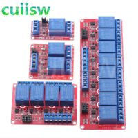 Relay module 1 2 4 8 Channel 5V Board Arduino Trigger Level Low and High