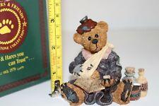 1997 Boyds Bear and Friends Figurine Bailey. Poor Ol' Bear 227704
