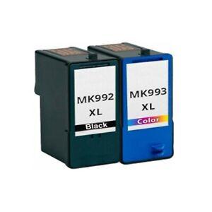 4x Compatible Ink Cartridge MK992 MK993 for Dell Photo 926 942 944 946 962 V305