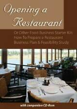 Opening a Restaurant or Other Food Business Starter Kit: How to Prepare a - GOOD