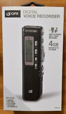 GPX PR047B  Digital Voice Recorder, up to 272 hrs