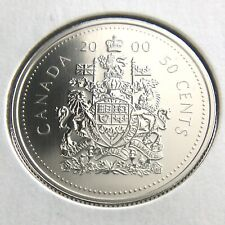 2000 Canada 50 Cents Half Dollar Specimen Uncirculated Canadian Coin N370