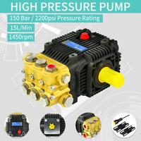 Hochdruckreiniger Wasserpumpe Echt Pumpe Solid Shaft 150 Bar 2200PSI Interpump