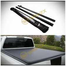 Soft Roll-Up Tonneau Cover Fit Ram 02-18 1500 03-18 2500/3500 8' Fleetside Bed
