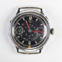 NIGA Vintage Monopusher Chronograph Watch  / Riparazione Watch Parts