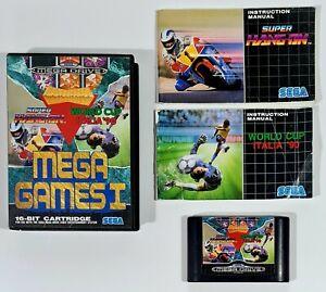 SEGA Mega Drive MEGA GAMES I Pal Super Hang On/Columns/World Cup Italia '90