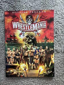 WWE WWF Wrestlemania 37 2021 official program magazine On Hand
