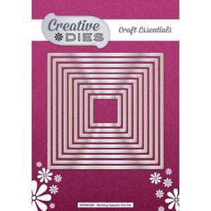 Creative Dies Nesting Die Set Squares | Set of 9