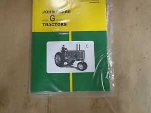 John Deere Model G Series Tractor Operator's Manual OMR2009CC E9