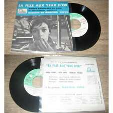 NARCISO YEPES-La Fille Aux Yeux D'or French EP OST 1962 Marie Laforet Languette