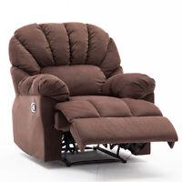 Oversized Manual Recliner Chair Armrest&Backrest Sofa Padded Seat Armchair  Sofa