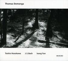 Thomas Demenga Toshio Hosokawa J.S. Bach Isang Yun Dbl CD ECM sealed