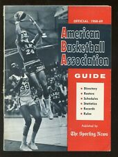 1968/1969 The Sporting News ABA Basketball Guide EX+