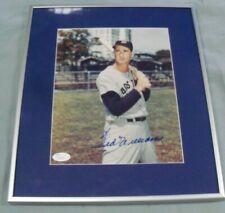 Ted Williams, Boston Red Sox, Signed/Framed Print, Red Sox Uniform, JSA