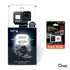 GoPro HERO8 Black  + FREE 32GB SD Card, 4K60 Ultra HD Livestream Go Pro Camera