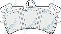 Unipart Gbp1708AF/PAD1317 Front  Brake Pad Set