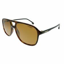 Carrera 173 S 086 K1 Escuro Havana Óculos De Sol Aviador Plástico Dourado  Lentes Espelhadas 2413550ede
