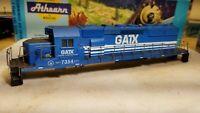 Athearn sd40-2 GATX shell for locomotive train engine body HO scale
