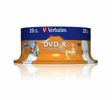 Verbatim DVD-R 4.7GB 16X 120Min 25-Pack Spindle