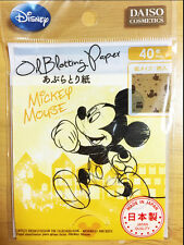 Daiso Japan Disney Oil Blotting Paper 40 Sheets Mickey Mouse
