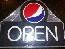 Pepsi Open Neon Light Up Sign New