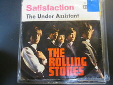 "Rolling Stones: Satisfaction/The Under Assistant. 7"" Single, Decca, Germany 1965"