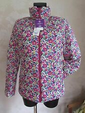 LIBERTY Uniqlo Pink Betsy Flower Water Repellent High-Tech Jacket Large BNWT