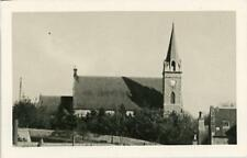 REAL PHOTOGRAPHIC POSTCARD OF KEMNAY CHURCH, ABERDEENSHIRE, SCOTLAND