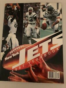 BRAND NEW 1987 New York Jets Yearbook NFL