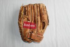 Gant de baseball de gaucher vintage Barnett marqué au crayon Pilgrims size 11