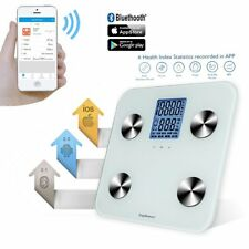 Bathroom Body Scale Family Bluetooth Smart Fat Digital BMI Muscle LCD 400lb/180