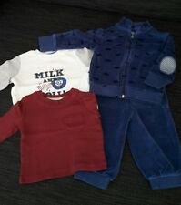 2 Shirts & Nicki-Hose & Nicki-Weste 62/68 NEU