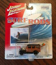 JOHNNY LIGHTNING - SURF RODS - 1931 FORD MODEL A WOODY STATION WAGON 1413