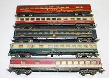 Lima H0  fünf Schnellzugwagen, Kunststoff