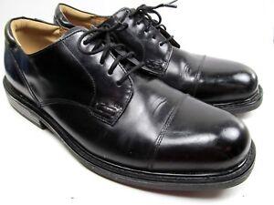 Florsheim Mens Black Dress Cap toe Derby Shoes Size 11.5 D