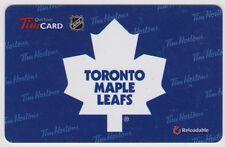 Retired Tim Hortons Toronto Maple Leafs Gift Card