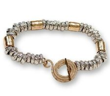handcrafted bracelete plata ley pulsera Sterling silver bracelet goldfill 14Kt