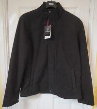 M&S Men Blue Harbour Outdoor Heavy Fleece Jacket, Black, SZ S, BNWT, Was £49.50