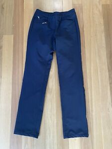 Chervo Ladies Winter Navy Golf Pants, Sz 40 IT or Aus 8