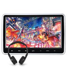 """HD 10.1"""" Slot-In Auto Kopfstütze Monitor DVD Player 1080P USB SD AV-IN+Kopfhörer"""