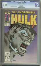 INCREDIBLE HULK #354 CGC 9.8 WHITE PAGES