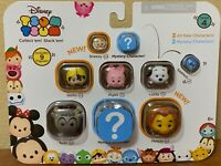 JAKKS DISNEY TSUM TSUM COLLECT 'N STACK 'EM W/ MYSTERY CHARACTER COLLECTIBLE 9PC