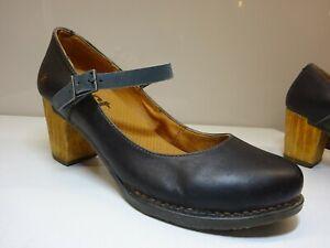 THE ART COMPANY 0417 SALZBURG Damen Schuhe Pumps Leder Schwarz Spain Gr.39 Neuw