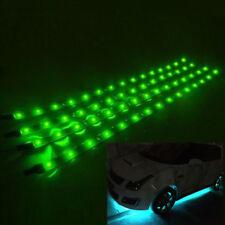 12pcs x RGB LED Strip Under Car Tube Underglow Underbody System Neon Lights Kit