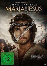DVD: MARIA UND JESUS - Die größte Geschichte aller Zeiten - Christian Bale *NEU*