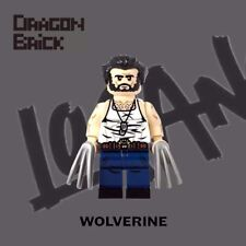 **NEW** DRAGON BRICK Custom Wolverine Lego Minifigure