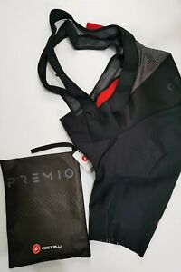 Castelli Premio 2 Bibshort Black 3XL.